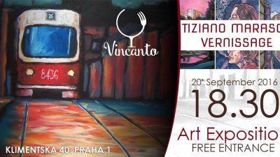Esposizione d'arte Tiziano Marasco a Vincanto