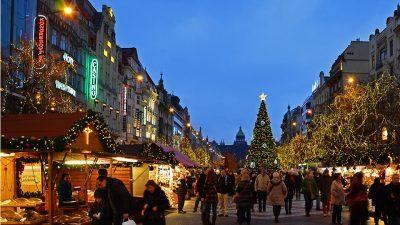 Luci di Natale Praga 2016