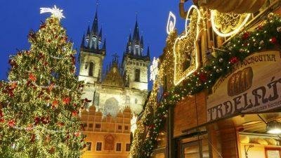 Albero di Natale Praga 2016