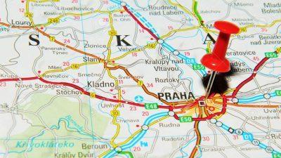 Praga: dove si trova?