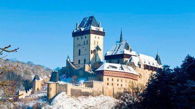 La fortezza di Karlštejn
