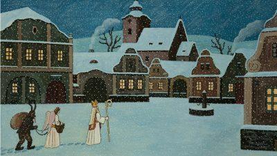 Il giorno di San Nicola nelle tradizioni ceche
