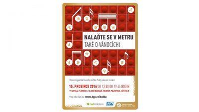 Musica in metro a Praga