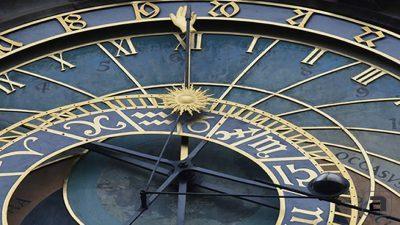 Ora locale di Praga e orologio astronomico
