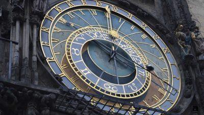 Quadrante astronomico orologio Praga
