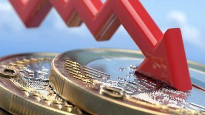 La corona vola sull'euro