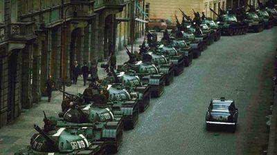 L'invasione sovietica della Cecoslovacchia