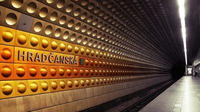 Mosaico metropolitana di Praga