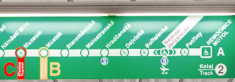 metro a praga