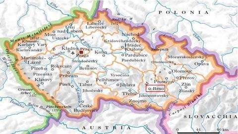 Brno-mappa