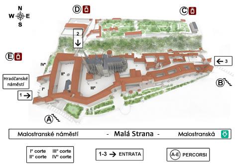 mappa-castello-praga