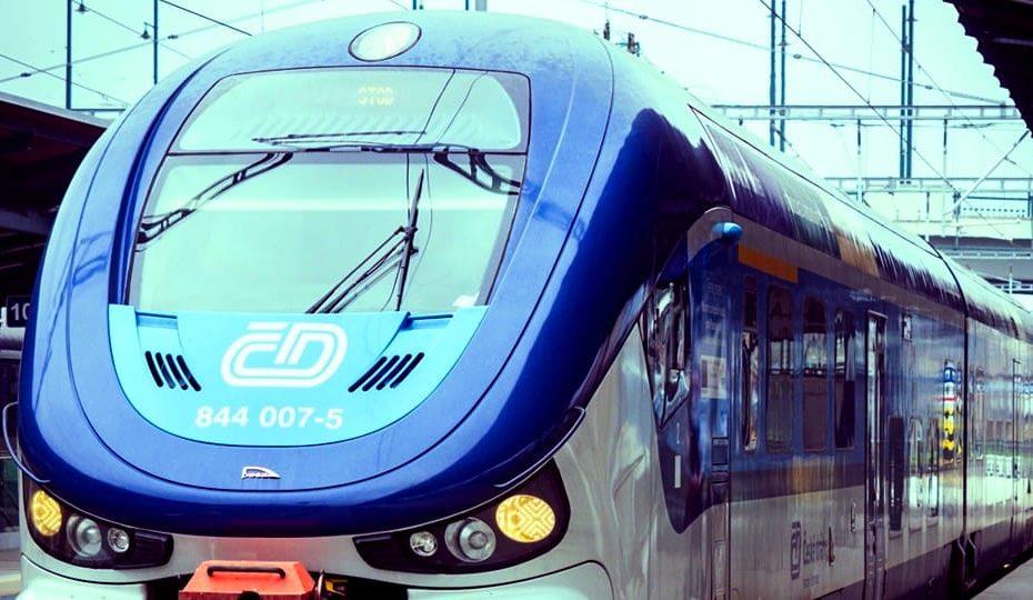 praga in treno