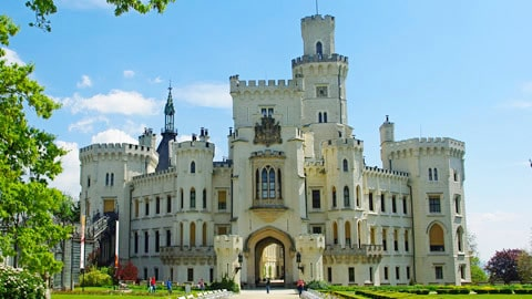 castello hluboka